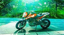 Fu38☆柿色さんの250DUKE インテリア画像