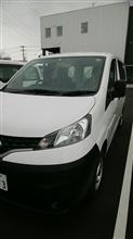 のんきやさんの愛車:日産 NV200バネット