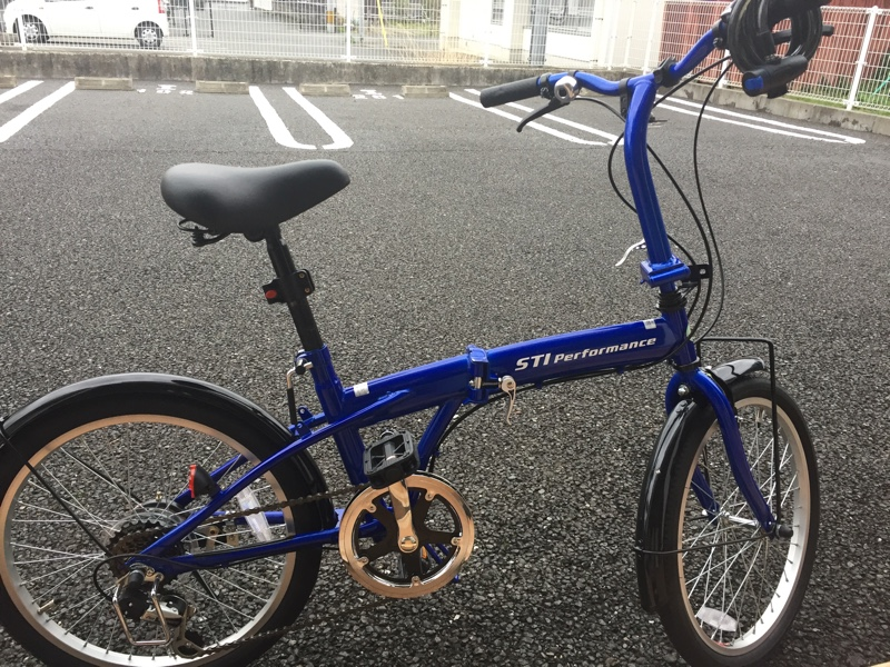 pino pinoさんの折りたたみ自転車