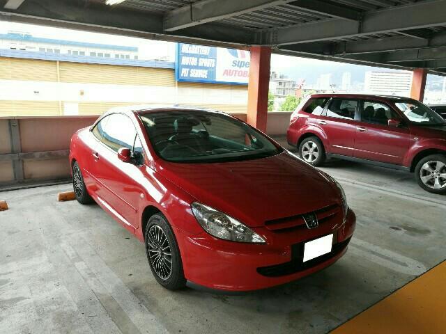 プジョー 307CC (カブリオレ)