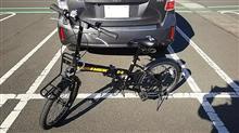 山とαは最高さんの20インチ折り畳み7段変速自転車 メイン画像