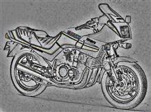 スミスひろしさんのGSX400FW 左サイド画像