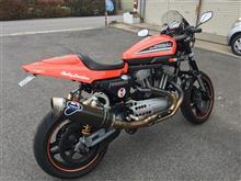 BMW840 杉山さんのスポーツスターXR1200 左サイド画像
