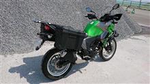 北国の頑固親父さんのVERSYS-X 250 ABS TOURER リア画像