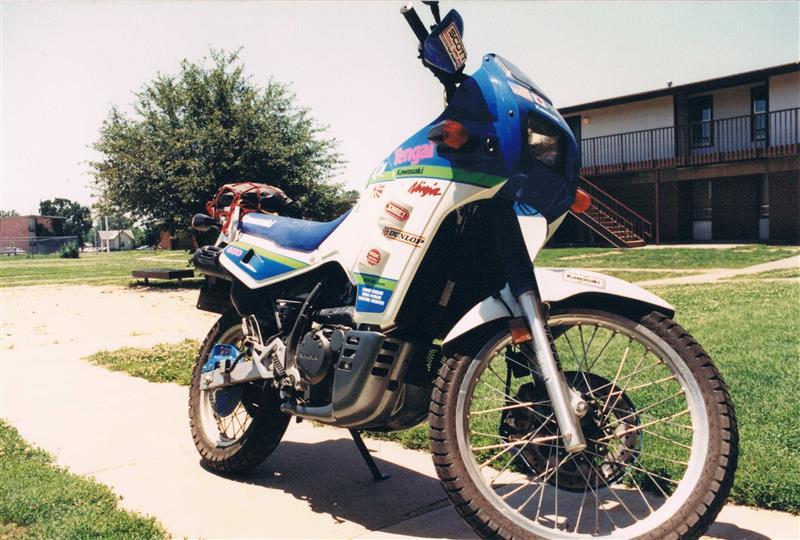 須藤 京一さんのKLX650