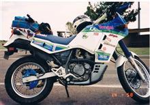 なすこぐまさんのKLX650 左サイド画像