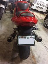 しもん☆三郎佐さんのSS900 リア画像