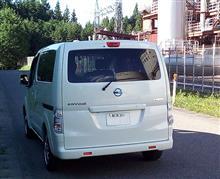 三右衛門さんのe-NV200 リア画像