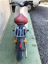 GANJA BABYさんのスーパーカブ C100 リア画像
