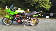 虎徹パパさんのGPZ900R 左サイド画像