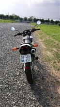 HONDA WINNER 150さんのXL125 リア画像