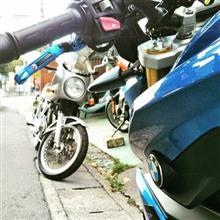 凛パパmk2さんのGB400TT 左サイド画像