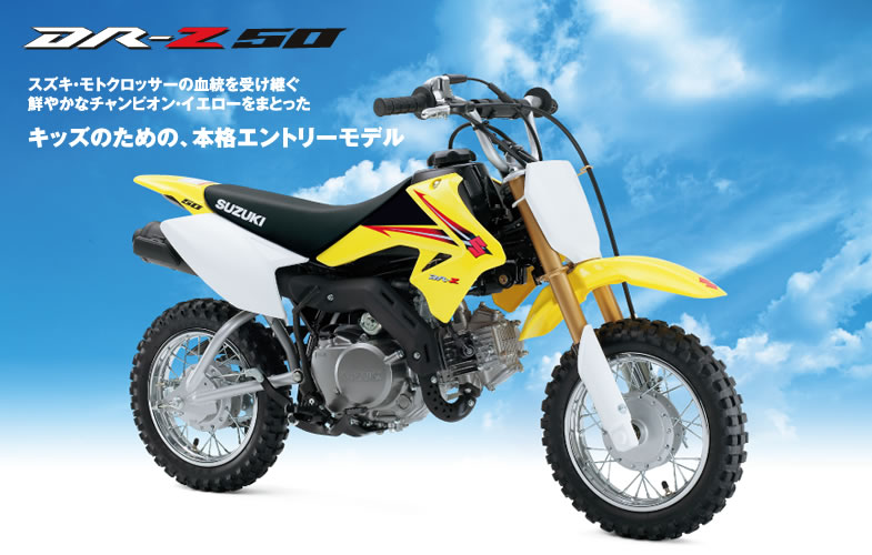 ごじゃ男さんのDR-Z50