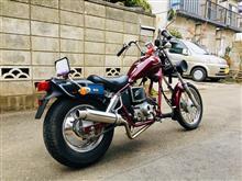 doimoriさんのジャズ(バイク) リア画像