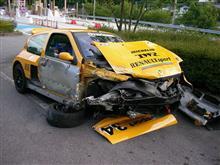『きのやん』さんのクリオ V6 ルノー スポール  (ルーテシア) リア画像