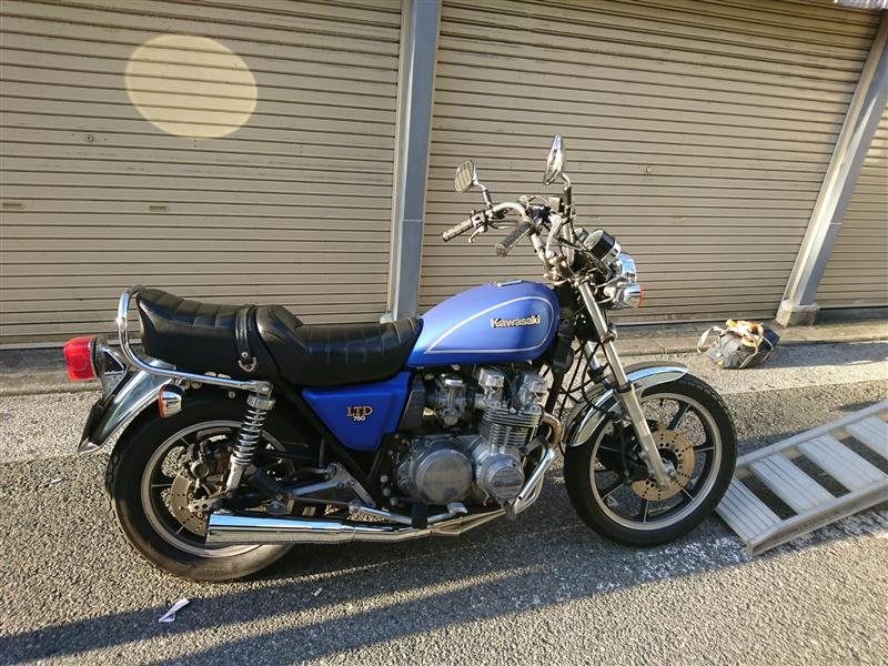 鈴木 純さんのZ750LTD