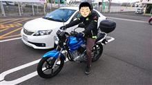 うぃうぃパパさんのYBR125G メイン画像
