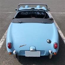 Baby Blueさんのヒーレー・スプライト Mk-I インテリア画像