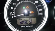 砂漠のトラさんのR nineT Racer インテリア画像