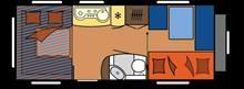 よーすけ215さんのホビーキャラバン インテリア画像