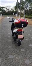 kinugoshiさんのアドレス110(FI) リア画像