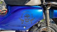 大乳輪山キョウジさんのスーパーカブ50 プロ 左サイド画像