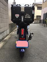 MitsuharuさんのスーパーカブC125(JA48) リア画像