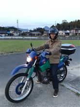 次郎吉ファームさんのXT400E-ARTESIA