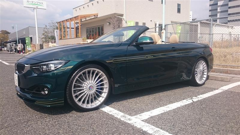 BMWアルピナ B4 BiTurbo カブリオ