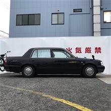 山口タクシーさんのクラウンコンフォート 左サイド画像