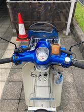 I like blueさんのスーパーカブ110_JA44 インテリア画像