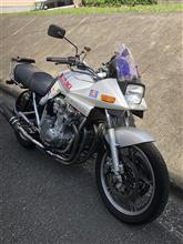 青りんごサワーさんのGSX750S KATANA (カタナ) リア画像