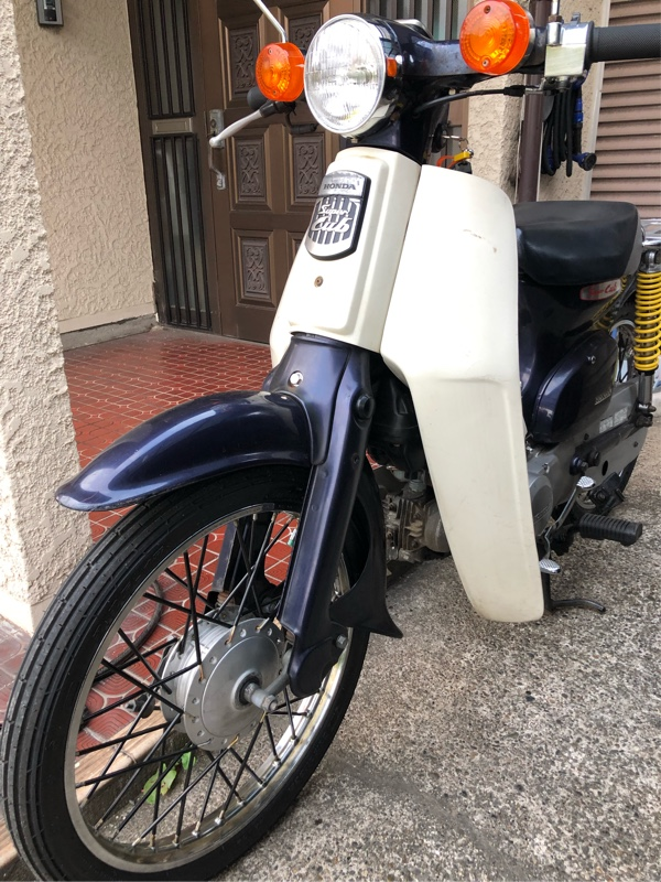 なかじぃーさんのスーパーカブ50 STD