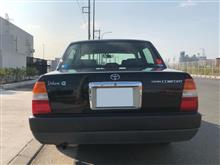 夜明タクシーさんのクラウンコンフォート リア画像
