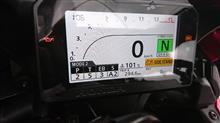 にがにがさんのCBR1000RR SP インテリア画像