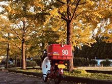 ザ・ドライバーさんのスーパーカブ デリバリー (郵政カブMD90) リア画像