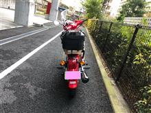 菊地真さんのスーパーカブ タイプX125 リア画像