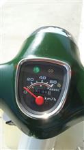 V50Sさんのスーパーカブ50 STD インテリア画像