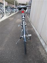 とりぃ。さんのクロス自転車 リア画像