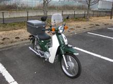 うつのみやのキヨさんのスーパーカブ110-JA07 インテリア画像