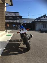 カチアオさんのSRX600 リア画像