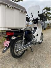 tetsu朗さんのスーパーカブ110プロ リア画像