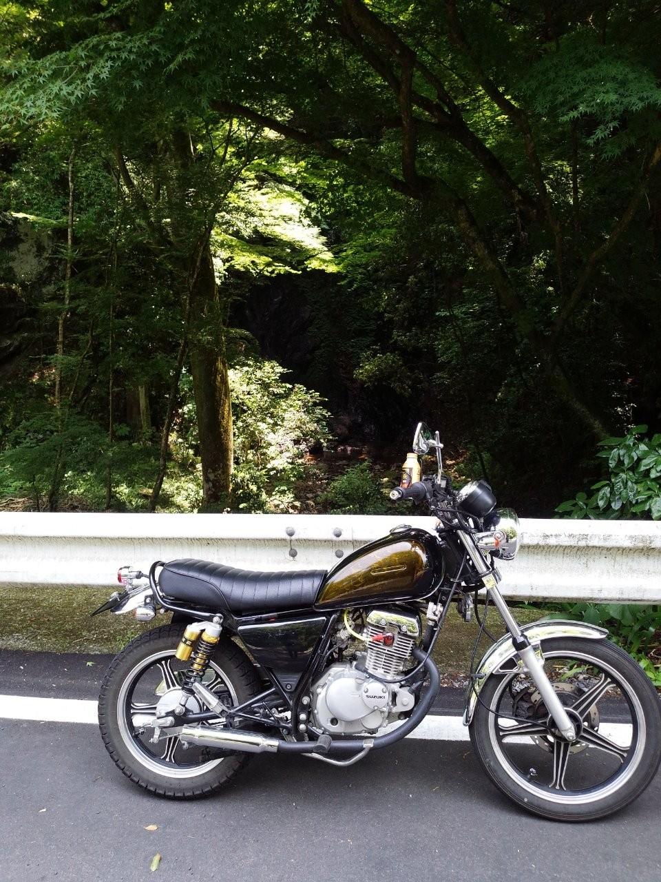 としひげさんのGN125-2F