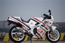 もっちゃんちゃんさんのGSX-R400 左サイド画像