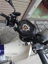 通りすがりの正義の味方さんのスーパーカブ110プロ-JA42 左サイド画像