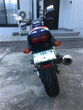 寺子の猿さんのCB400SF HYPER VTEC Revo (NC42) リア画像
