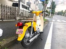 _Takayukiさんのスーパーカブ110_JA44 リア画像