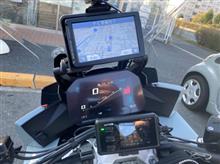 代表取締役横綱さんのS1000XR インテリア画像