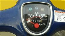 南三陸のサンバートライさんのスーパーカブ50 STD インテリア画像