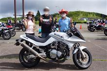 長谷川英一さんのGSX750S3 左サイド画像